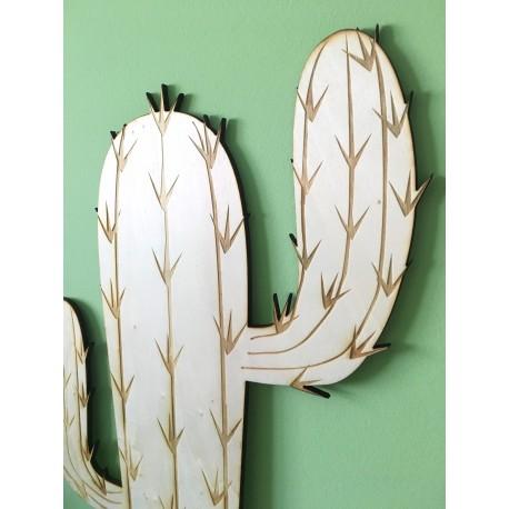 Cactus madera decoracin Yelocai